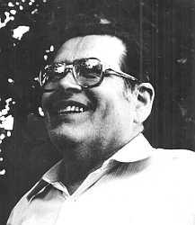 Fotografie faráře Jiřího Josefa Mazance